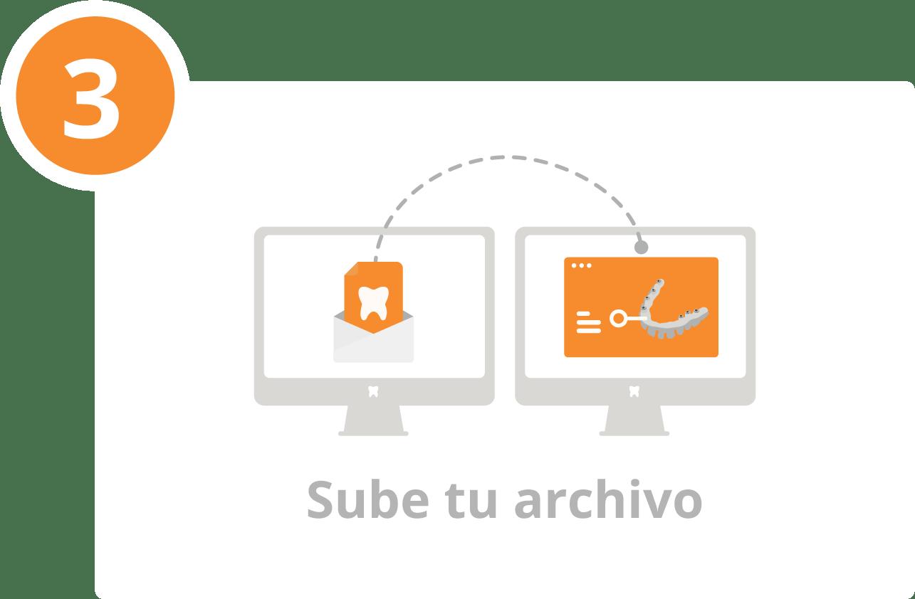 PASO 3 - SUBE TU ARCHIVO