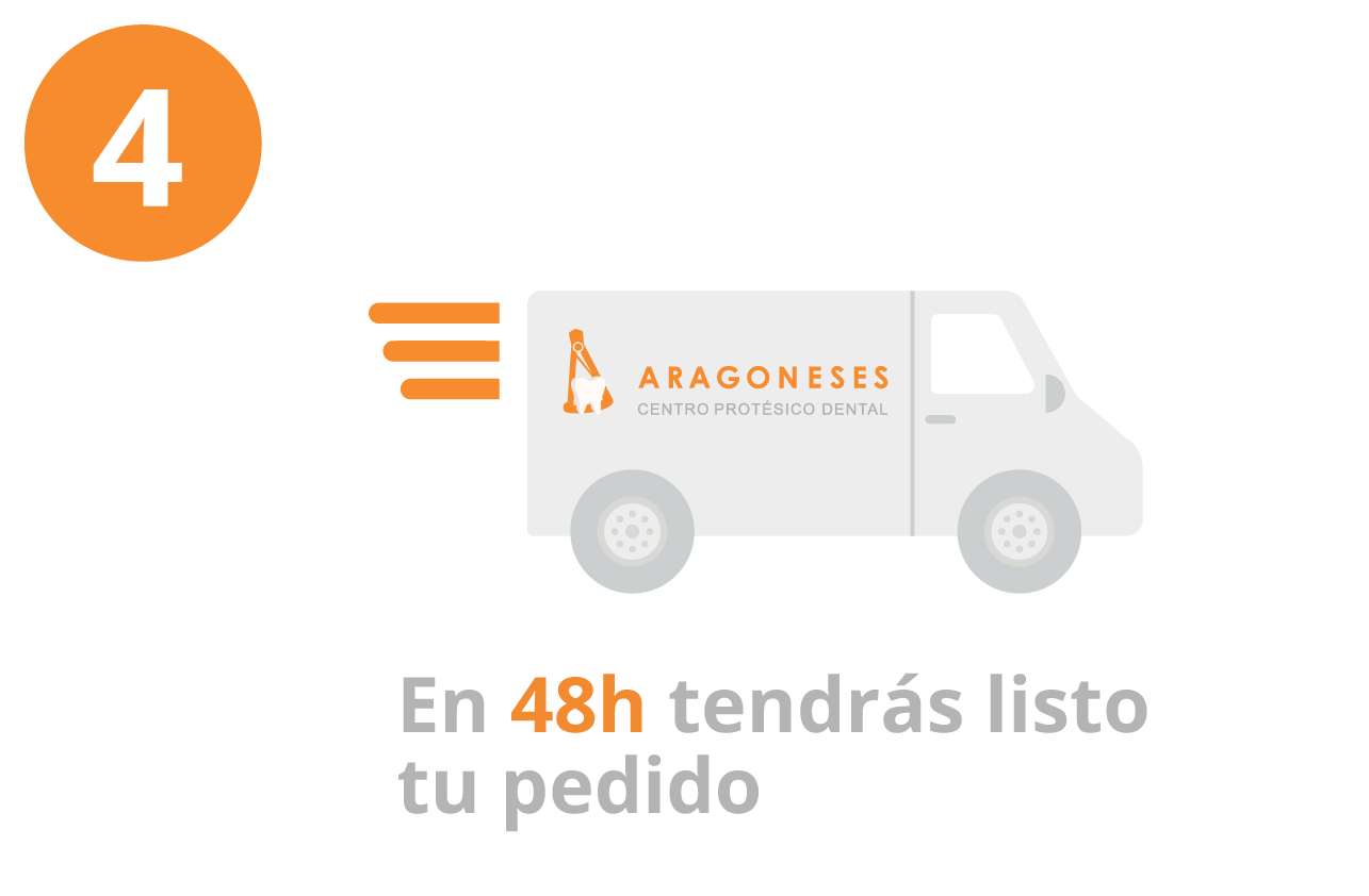 PASO 4 - EN 48H TENDRáS LISTO TU PEDIDO